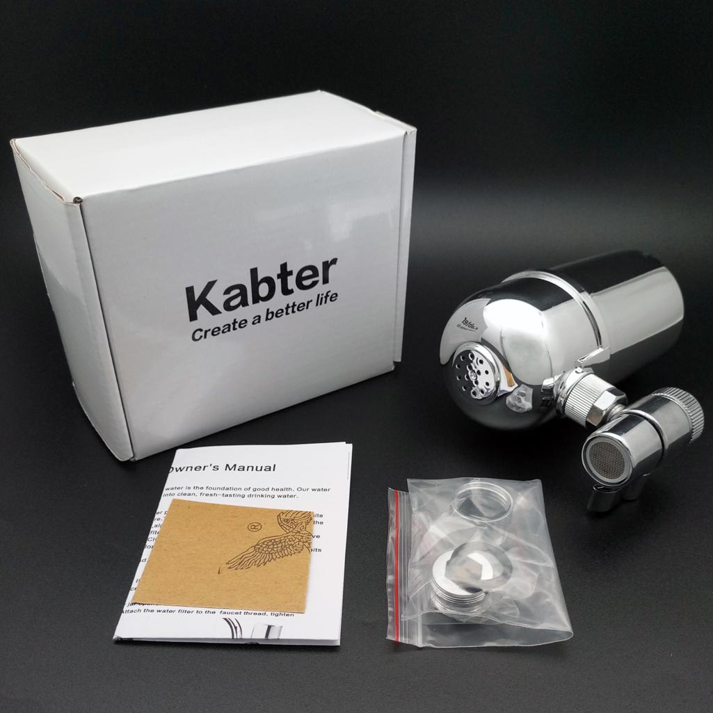 Kabter Swivel Tap Water Purifier Faucet Mount Water Filter System ...