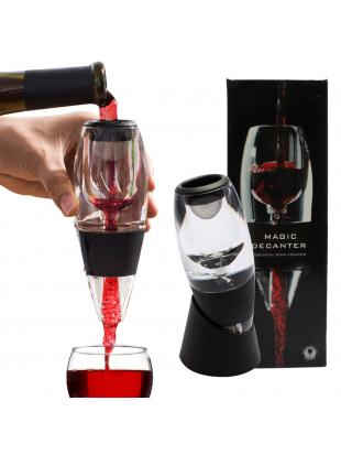Kabter LED Wine Aerator Decanter with Vacuum Stopper for Home Use or Party